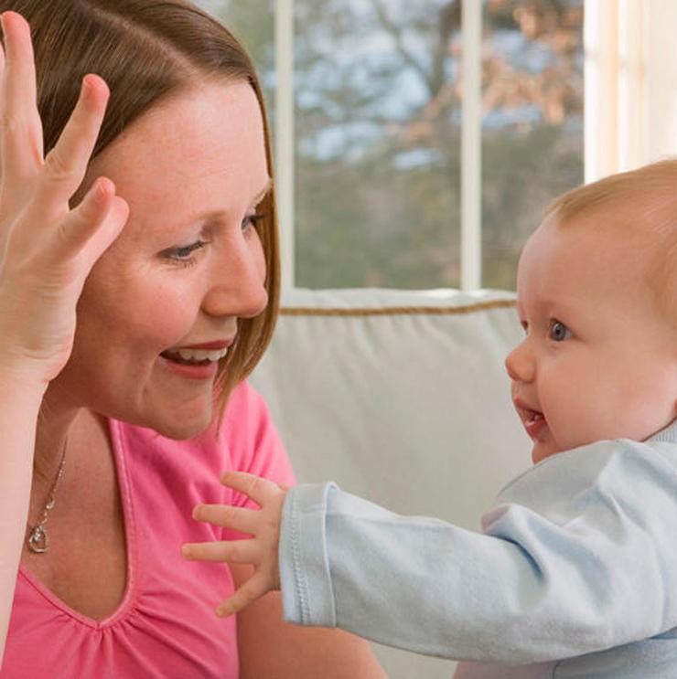 حرف زدن با نوزاد